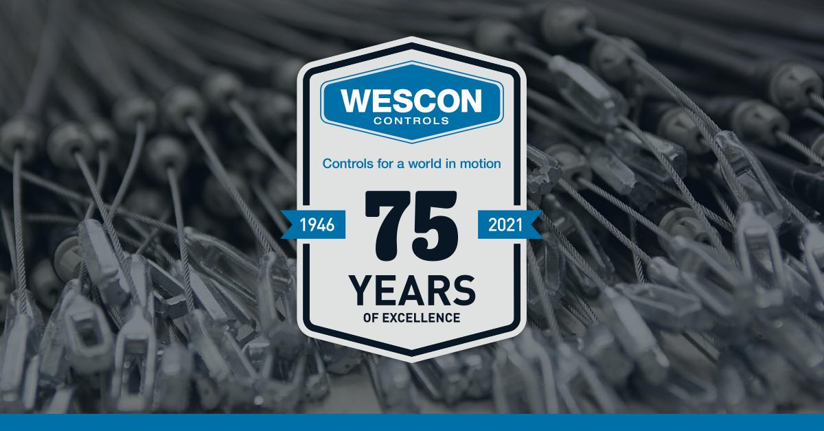 Wescon Controls Celebrates 75th Anniversary